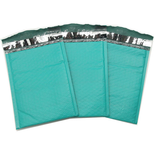 """100 Green #5 Poly Bubble Mailers (10.5"""" X 15.25"""")"""