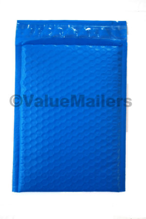 """B1) 100 Blue #5 Poly Bubble Mailers (10.5"""" X 15.25"""")"""