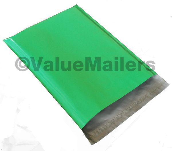 Green Poly Mailers