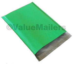 100 19x24 Green Poly Mailers-0