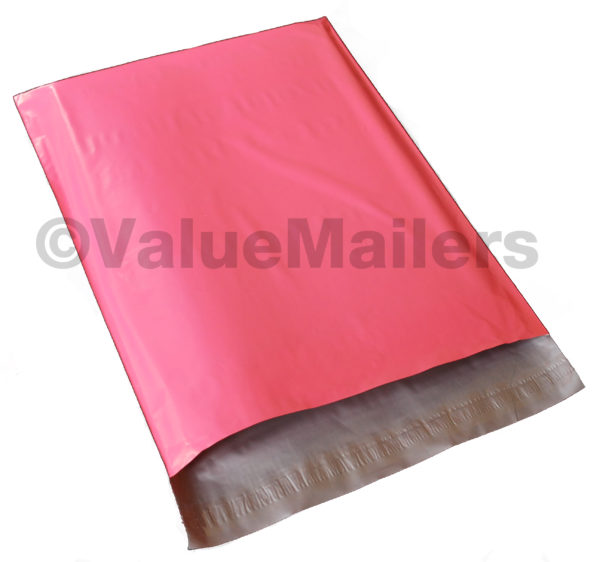 100 19x24 Pink Poly Mailers-0