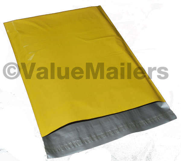 Yellow Poly Mailers