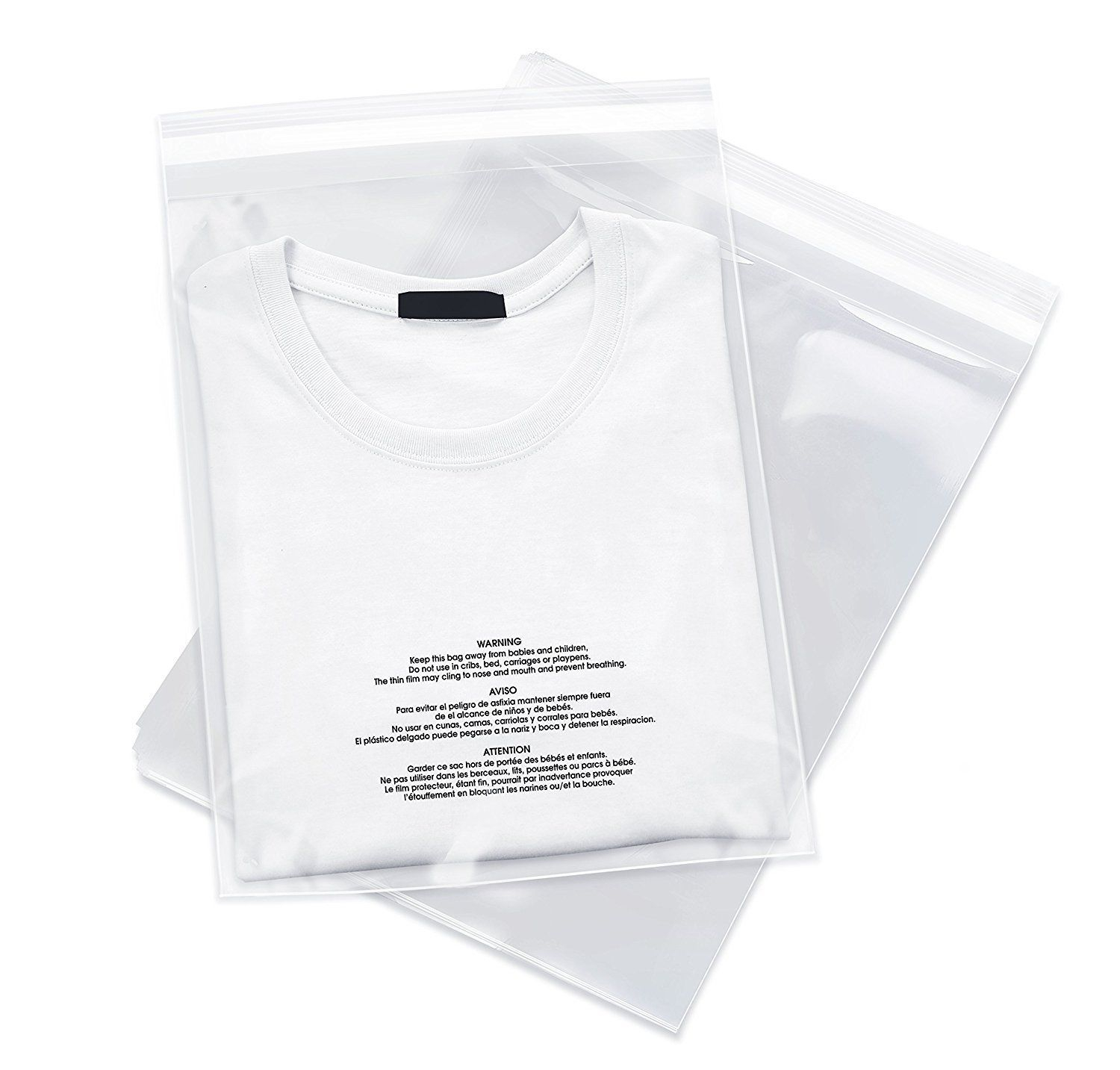 Poly Bags LDPE Suffocation Warning