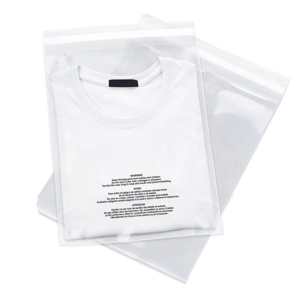 - 1,000 9x12 LDPE Poly Bags Resealable Suffocation Warning Clear Merchandise 1.5 mil Shirt Apparel-0