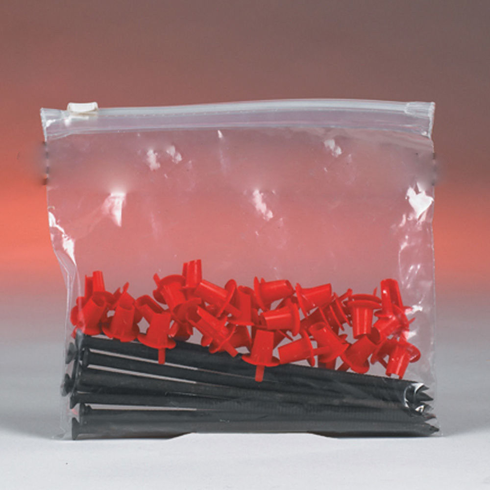 Poly Bags Clear Slide-Seal Top